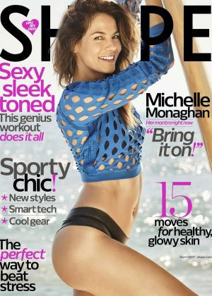 Michelle Monaghan - Shape US Magazine (March 2017)