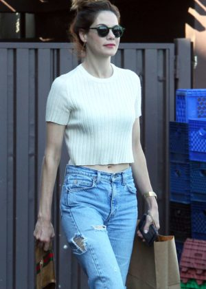Michelle Monaghan shopping in Hollywood