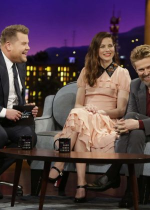 Michelle Monaghan - 'The Late Late Show with James Corden' in LA