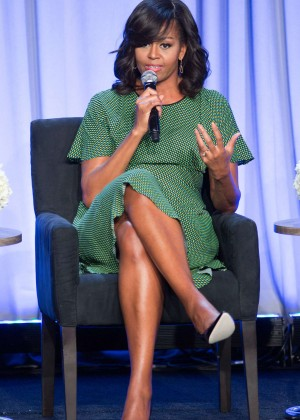 Michelle Obama - American Media Conference Day 2 in New York