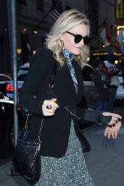Michelle Pfeiffer at Good Morning America in New York