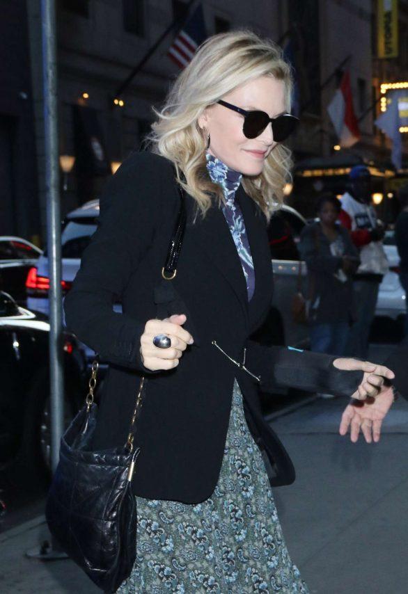 Michelle Pfeiffer at Good Morning America in New York