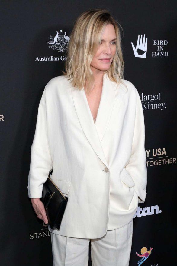 Michelle Pfeiffer - G'Day USA 2020 in Beverly Hills