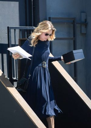 Michelle Pfeiffer Leaves a studio in LA