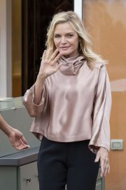 Michelle Pfeiffer - 'Maleficent: Mistress of Evil' Photocall in Rome