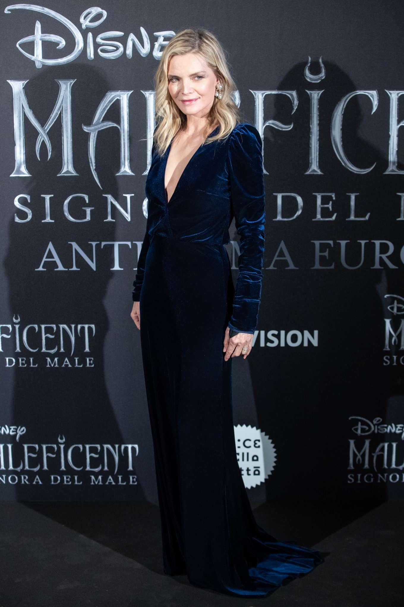 Michelle Pfeiffer 2019 : Michelle Pfeiffer – Maleficent: Mistress Of Evil Premiere in Rome-04