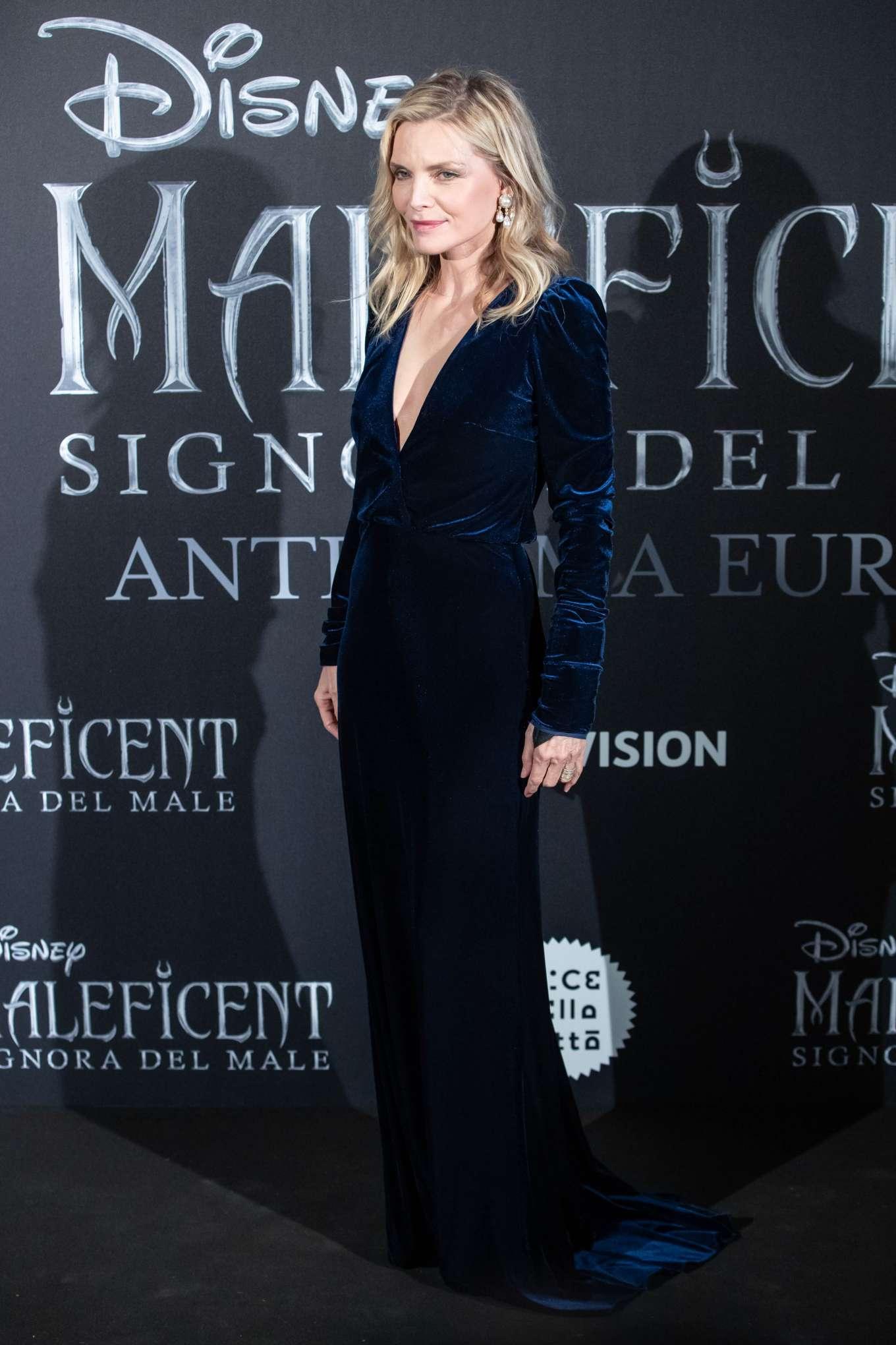 Michelle Pfeiffer 2019 : Michelle Pfeiffer – Maleficent: Mistress Of Evil Premiere in Rome-06