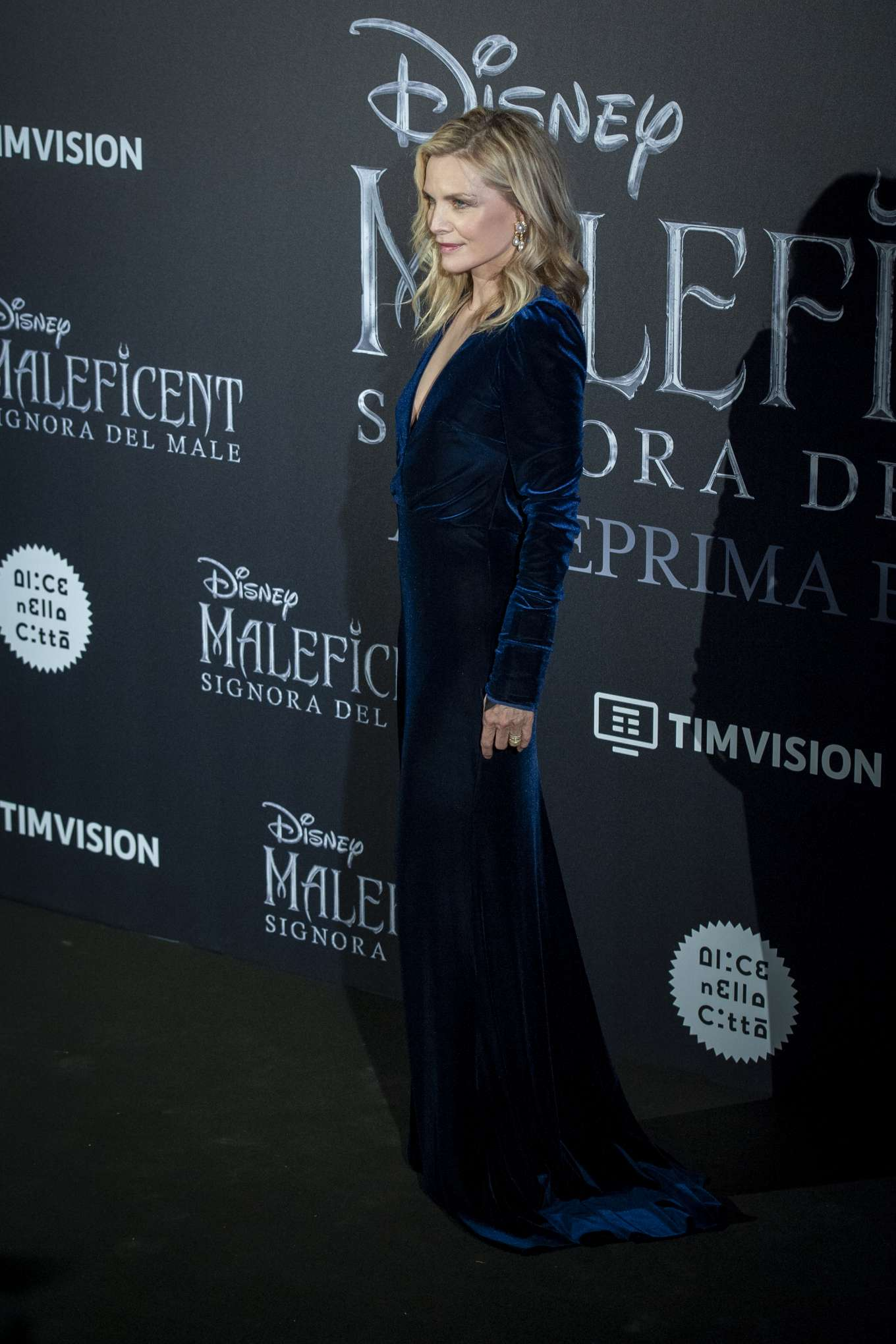 Michelle Pfeiffer 2019 : Michelle Pfeiffer – Maleficent: Mistress Of Evil Premiere in Rome-11