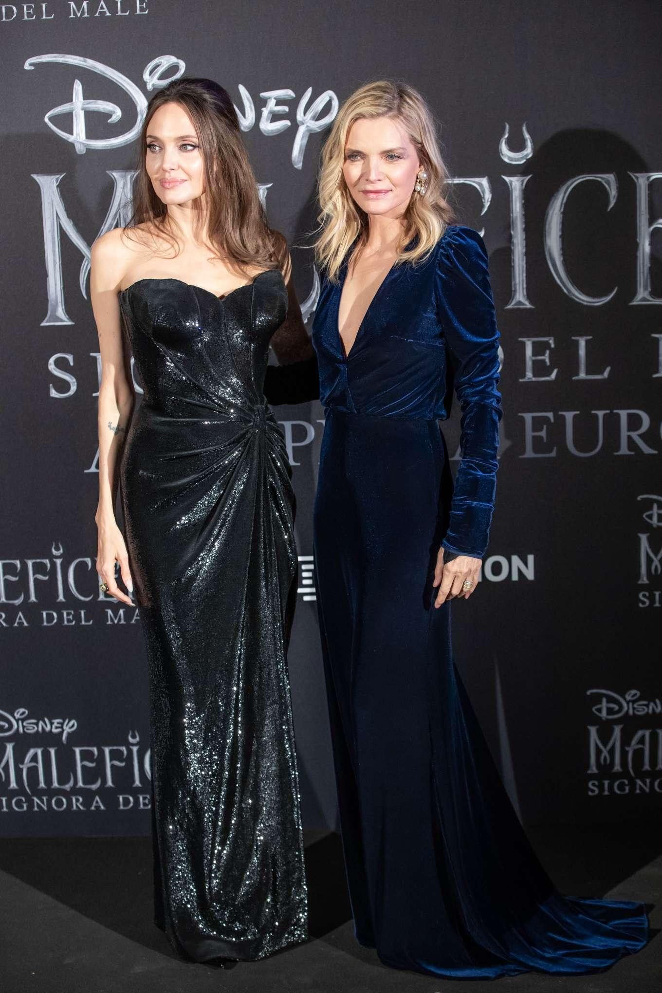 Michelle Pfeiffer 2019 : Michelle Pfeiffer – Maleficent: Mistress Of Evil Premiere in Rome-13