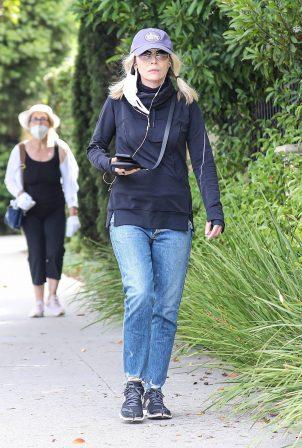 Michelle Pfeiffer - Out walking in Santa Monica