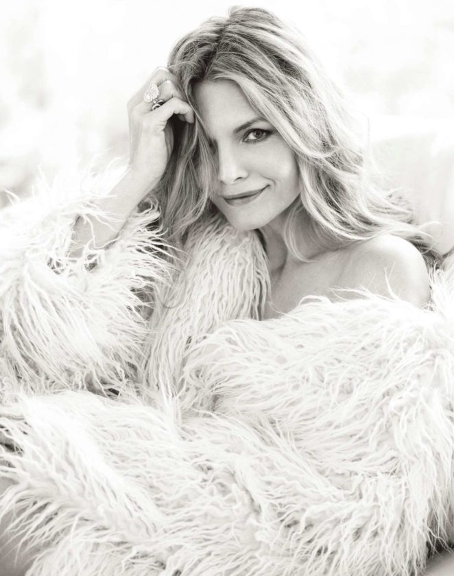Michelle Pfeiffer - The Edit Magazine (October 2017)