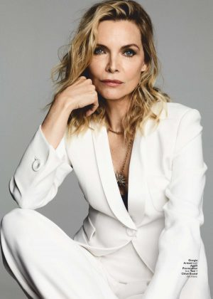 Michelle Pfeiffer – US InStyle Magazine (March 2019)