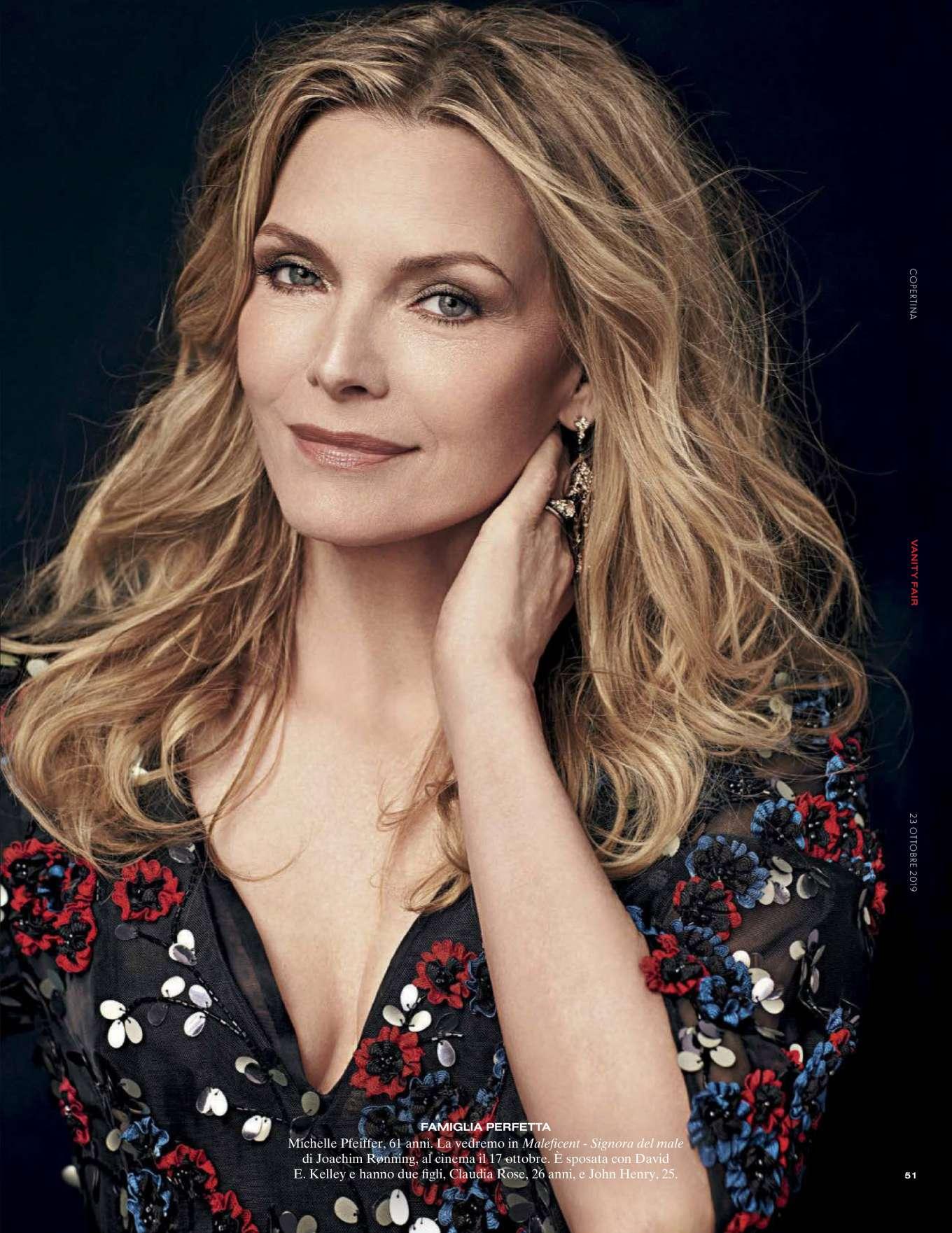 Michelle Pfeiffer - Vanity Fair Italy Magazine (October 2019)