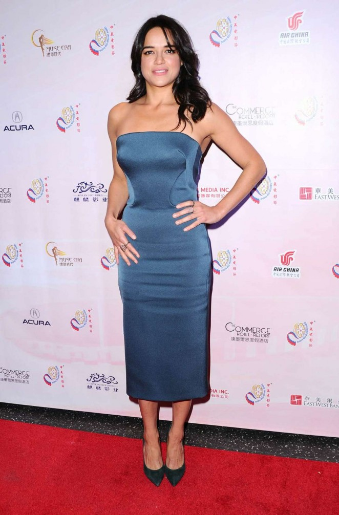 Michelle Rodriguez - 2015 Chinese American Film Festival Opening Ceremony in Hollywood