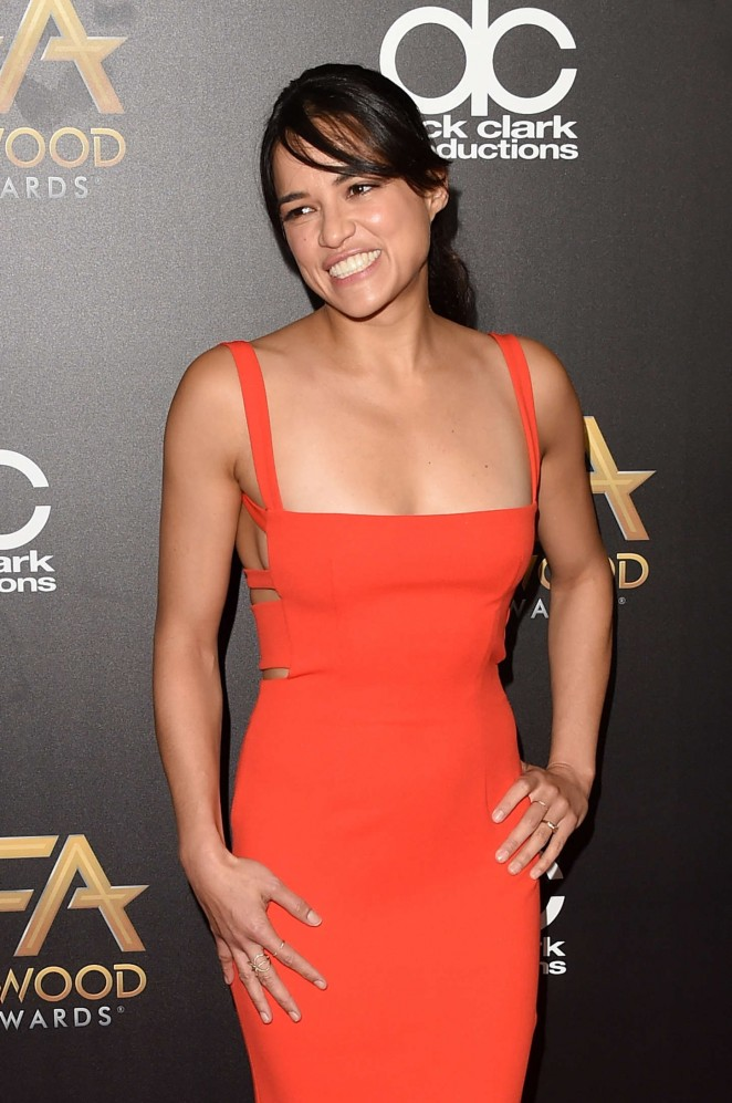 Michelle Rodriguez – 19th Annual Hollywood Film Awards in Beverly Hills