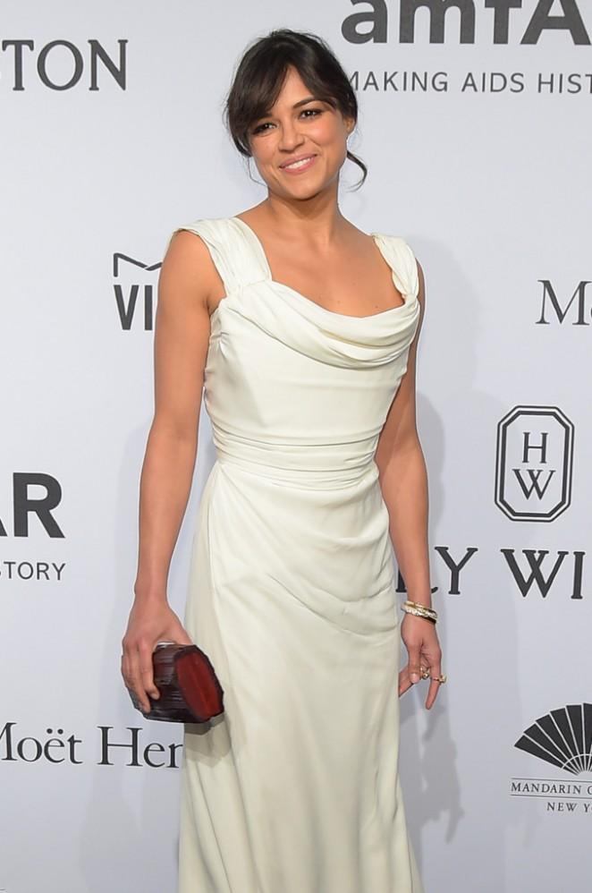Michelle Rodriguez - amfAR New York Gala 2015