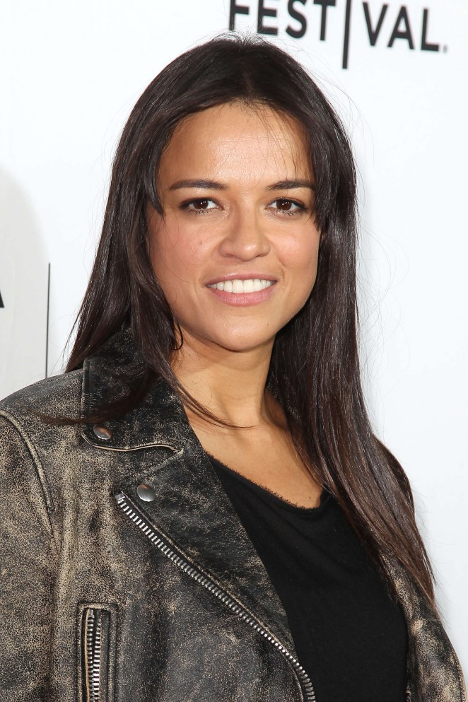 "Michelle Rodriguez - ""Live From New York!"" Premiere at 2015 Tribeca Film Festival in NY"