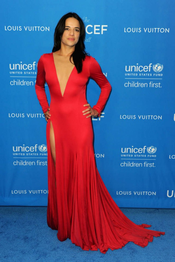 Michelle Rodriguez - 6th Biennial UNICEF Ball in Beverly Hills