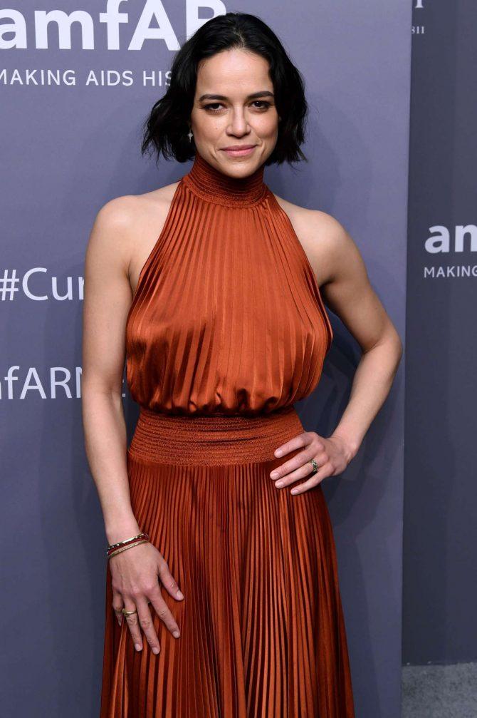 Michelle Rodriguez – amfAR New York Gala 2019 in NYC