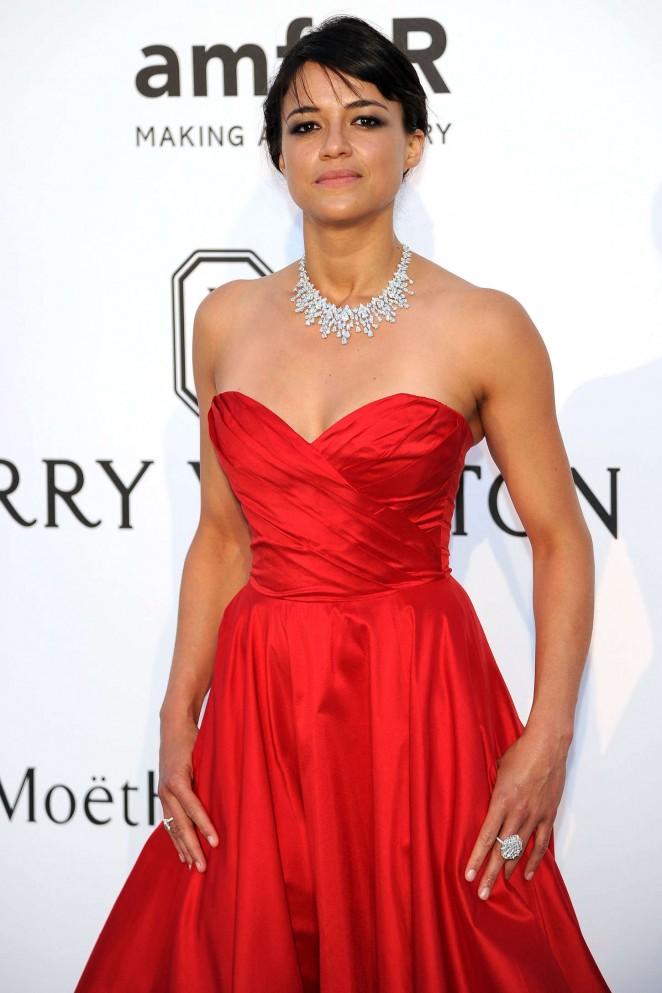 Michelle Rodriguez - amfAR 2015 Cinema Against AIDS Gala in Cannes