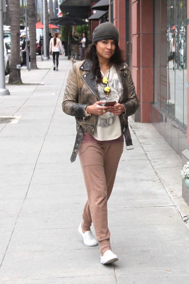 Michelle Rodriguez at Anastasia in Beverly Hills