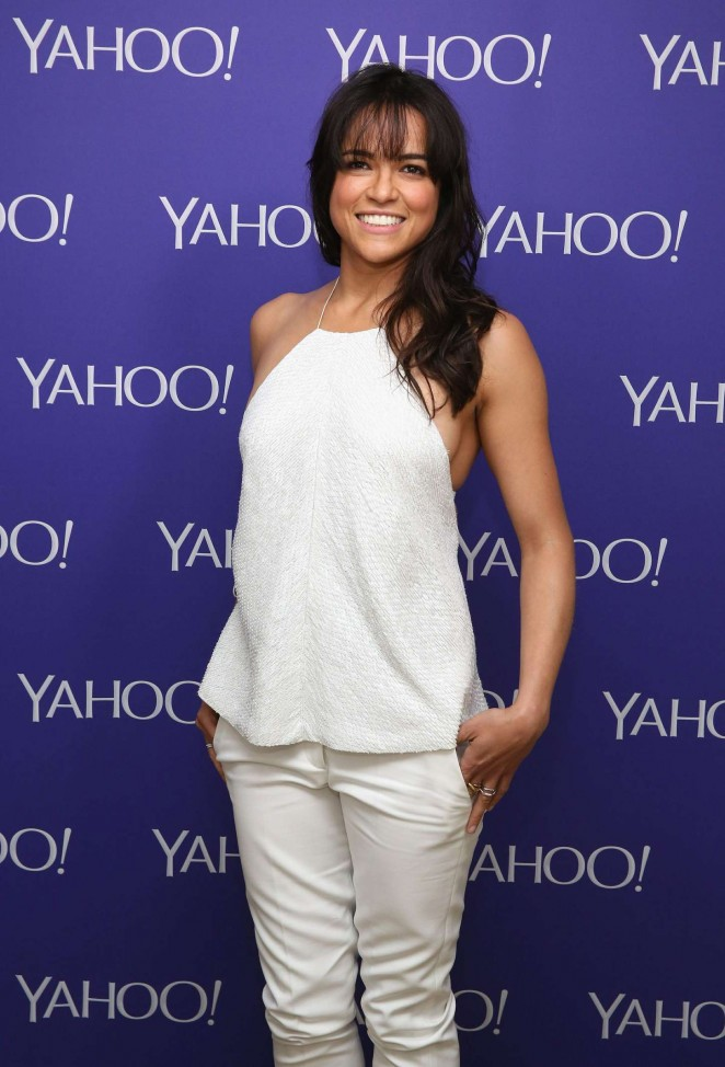 Michelle Rodriguez - Attends the 2015 Yahoo Digital Content NewFronts