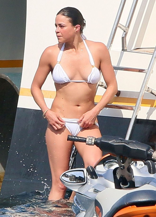 Michelle Rodriguez in Bikini in France
