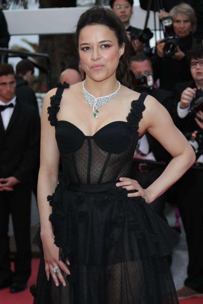 Michelle Rodriguez - 'BlacKkKlansman' Premiere at 2018 Cannes Film Festival