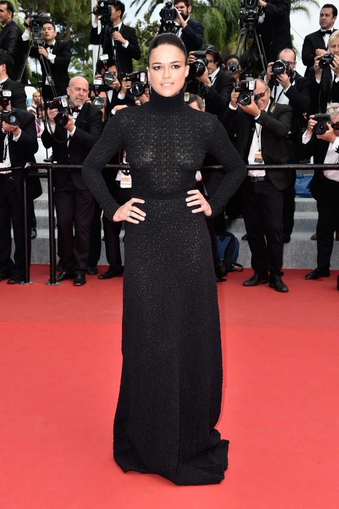 Michelle Rodriguez - Closing Ceremony and 'Le Glace Et Le Ciel' Premiere in Cannes