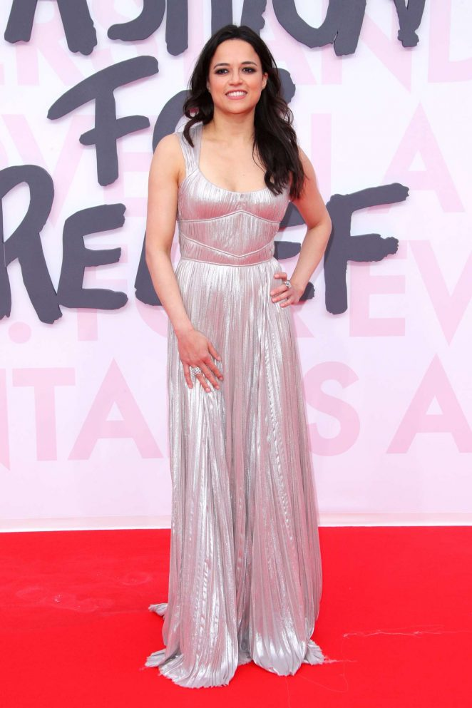 Michelle Rodriguez - Fashion for Relief Show 2018 in Cannes