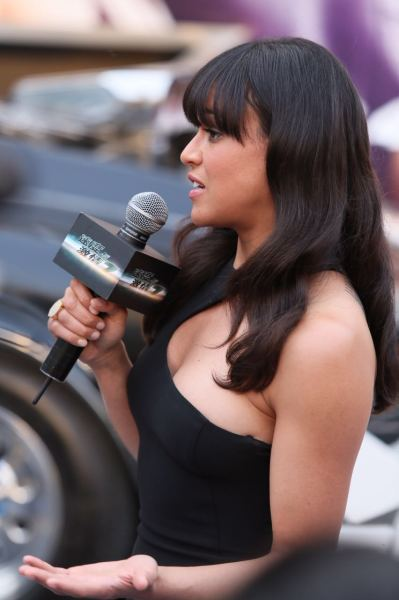 "Michelle Rodriguez - ""Fast and Furious 7"" Premiere in Beijing"