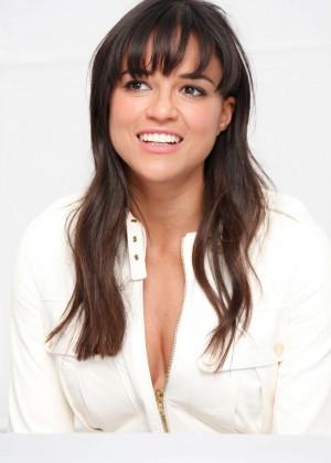 "Michelle Rodriguez - ""Fast & Furious 7"" Press Conference in LA"