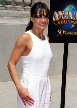 Michelle Rodriguez - 'Fast & Furious - Supercharged' Premiere in Universal City