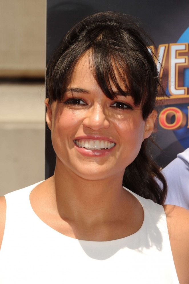 Michelle Rodriguez: Fast and Furious Supercharged Premiere -09