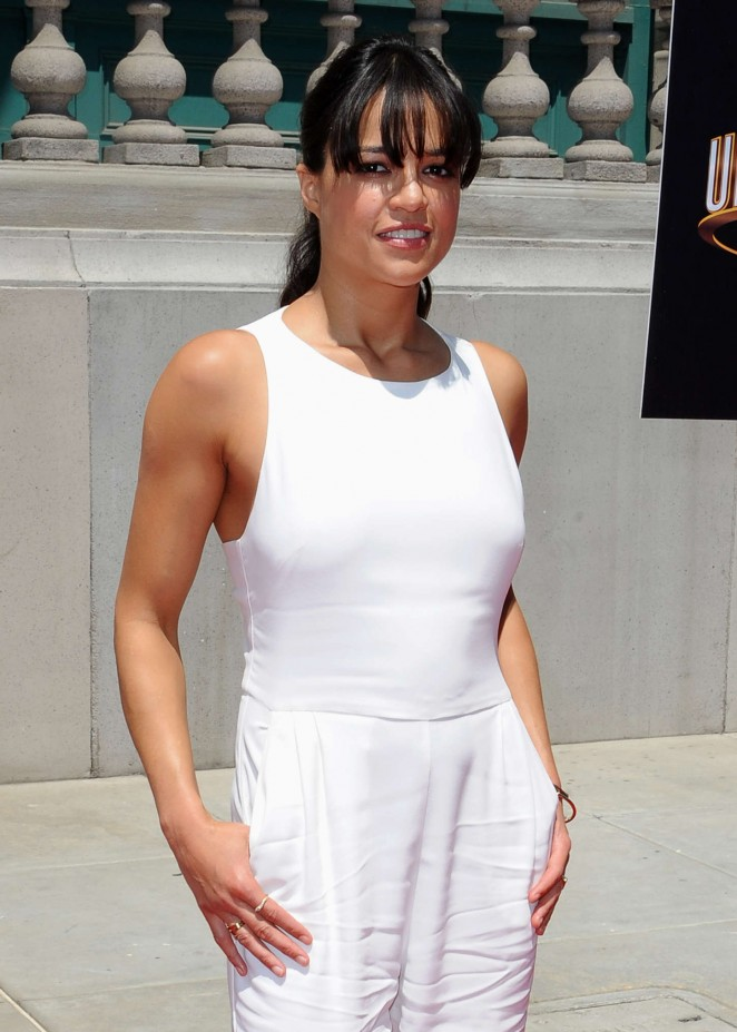 Michelle Rodriguez: Fast and Furious Supercharged Premiere -11
