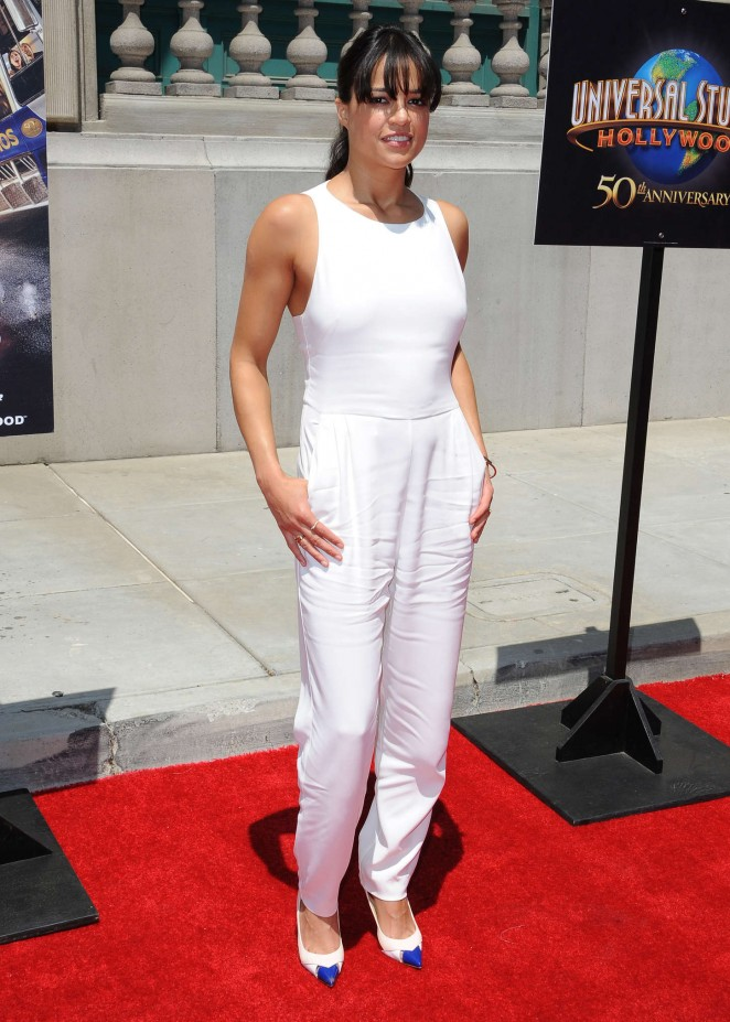Michelle Rodriguez: Fast and Furious Supercharged Premiere -13