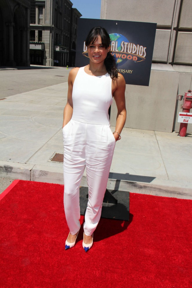 Michelle Rodriguez: Fast and Furious Supercharged Premiere -16