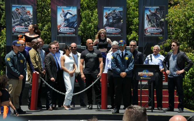 Michelle Rodriguez: Fast and Furious Supercharged Premiere -23