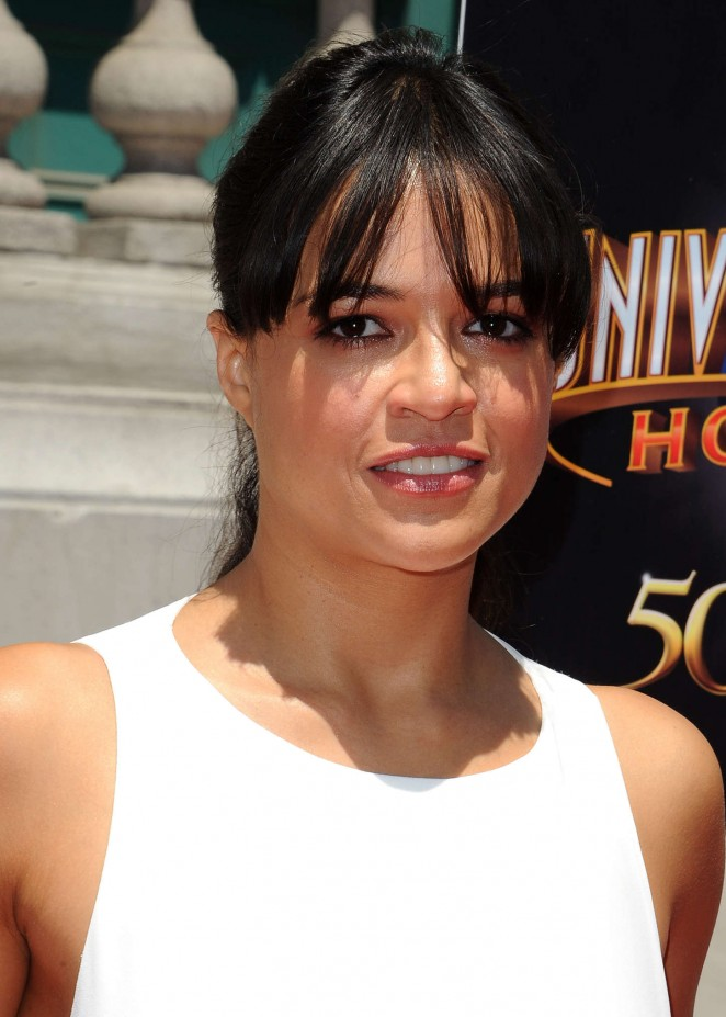 Michelle Rodriguez: Fast and Furious Supercharged Premiere -24