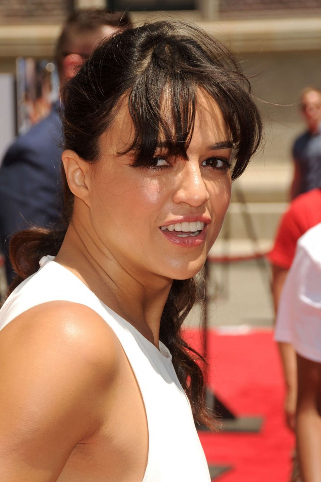 Michelle Rodriguez: Fast and Furious Supercharged Premiere -27