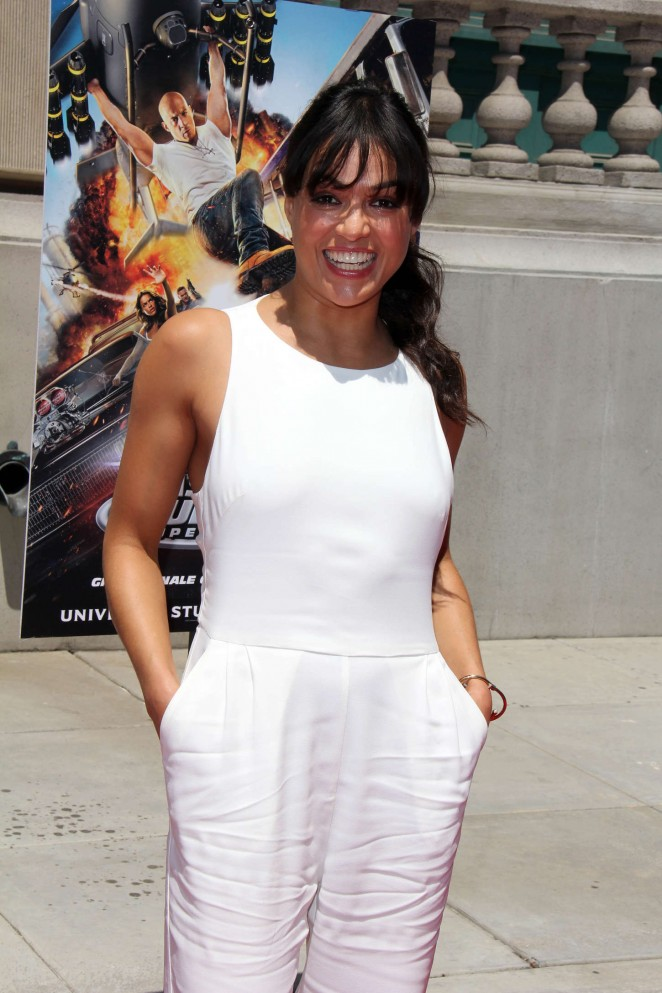 Michelle Rodriguez: Fast and Furious Supercharged Premiere -28