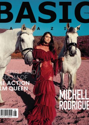 Michelle Rodriguez for BASIC Voyage Cover 2018