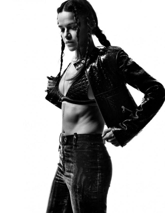 Michelle Rodriguez - Interview Magazine (February 2015)