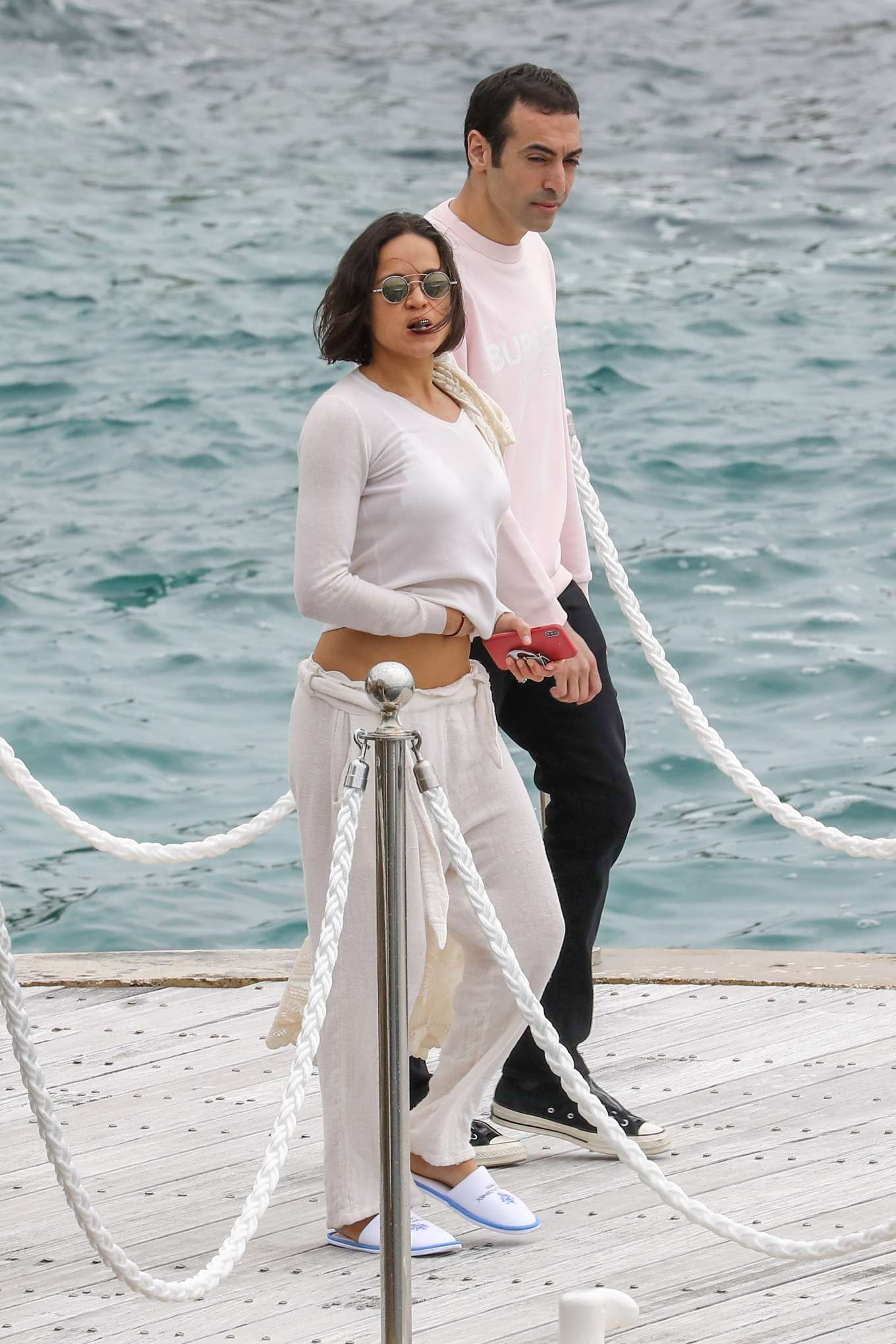 Michelle Rodriguez - Leaves Eden Roc Hotel in Cannes