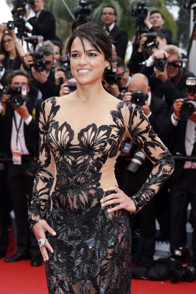 Michelle Rodriguez - 'Mad Max: Fury Road' Premiere in Cannes