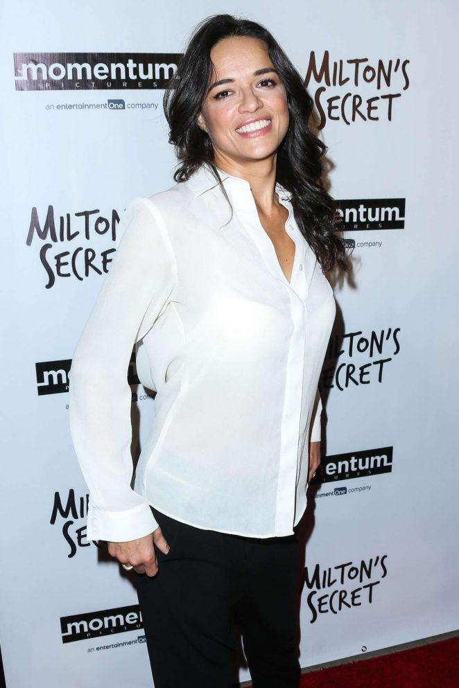 Michelle Rodriguez - 'Milton's Secret' Premiere in Los Angeles