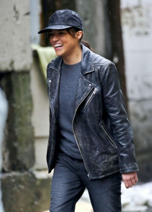 Michelle Rodriguez on 'Tomboy, A Revenger's Tale' set in Vancouver