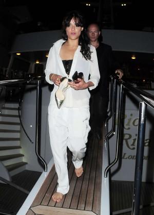 Michelle Rodriguez in White -05