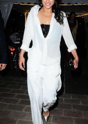 Michelle Rodriguez in White -06