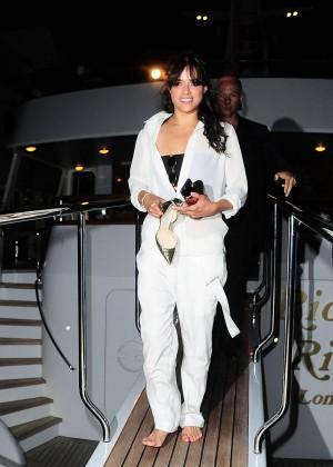 Michelle Rodriguez in White -07